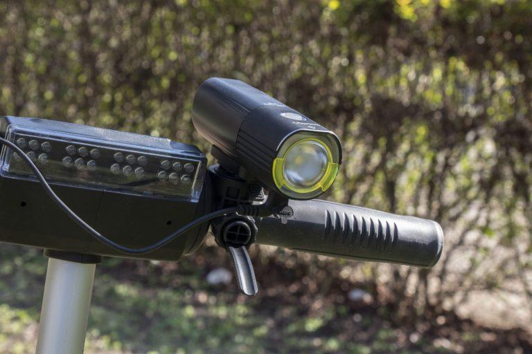 Gaciron V9S-1000 kerékpárlámpa teszt 21