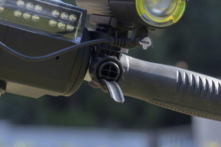 Gaciron V9S-1000 kerékpárlámpa teszt 23