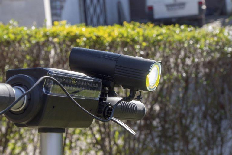 Gaciron V9S-1000 kerékpárlámpa teszt 25