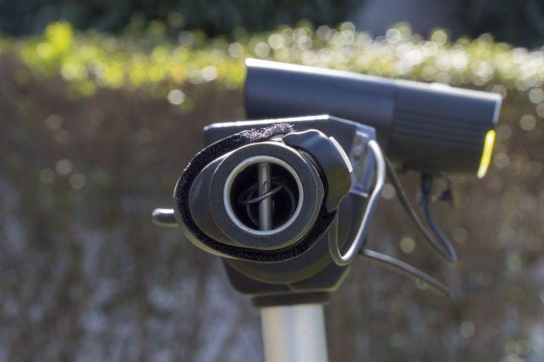 Gaciron V9S-1000 kerékpárlámpa teszt 26