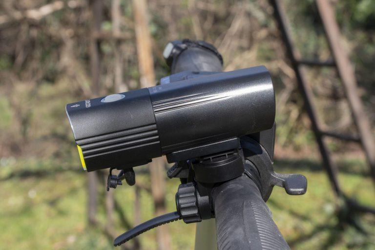 Gaciron V9S-1000 kerékpárlámpa teszt 27