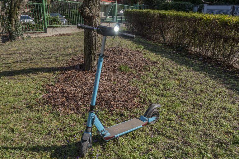 Gaciron V9S-1000 kerékpárlámpa teszt 29