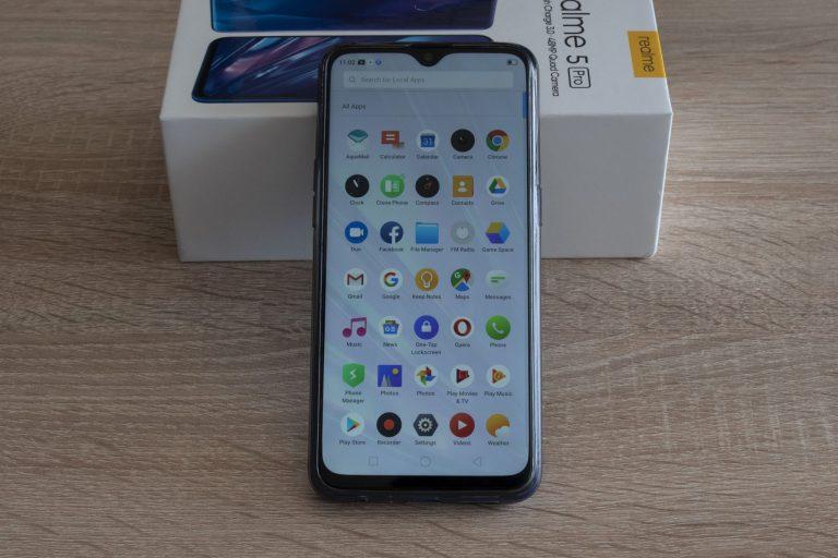 Oppo Realme 5 Pro okostelefon teszt 18