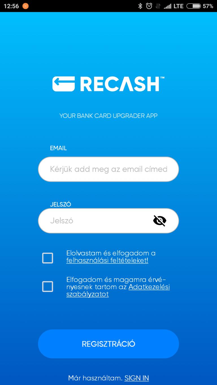 Elindult a magyar fintech app, a Recash 8