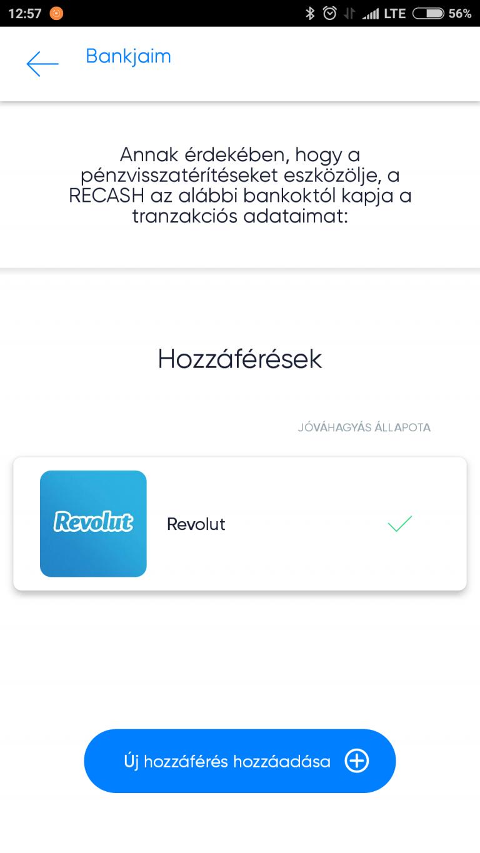 Elindult a magyar fintech app, a Recash 9
