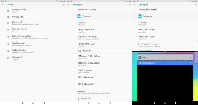 Alldocube iPlay 8 Pro tablet teszt 17
