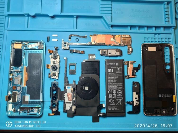 Xiaomi Mi 10 okostelefon teszt 30