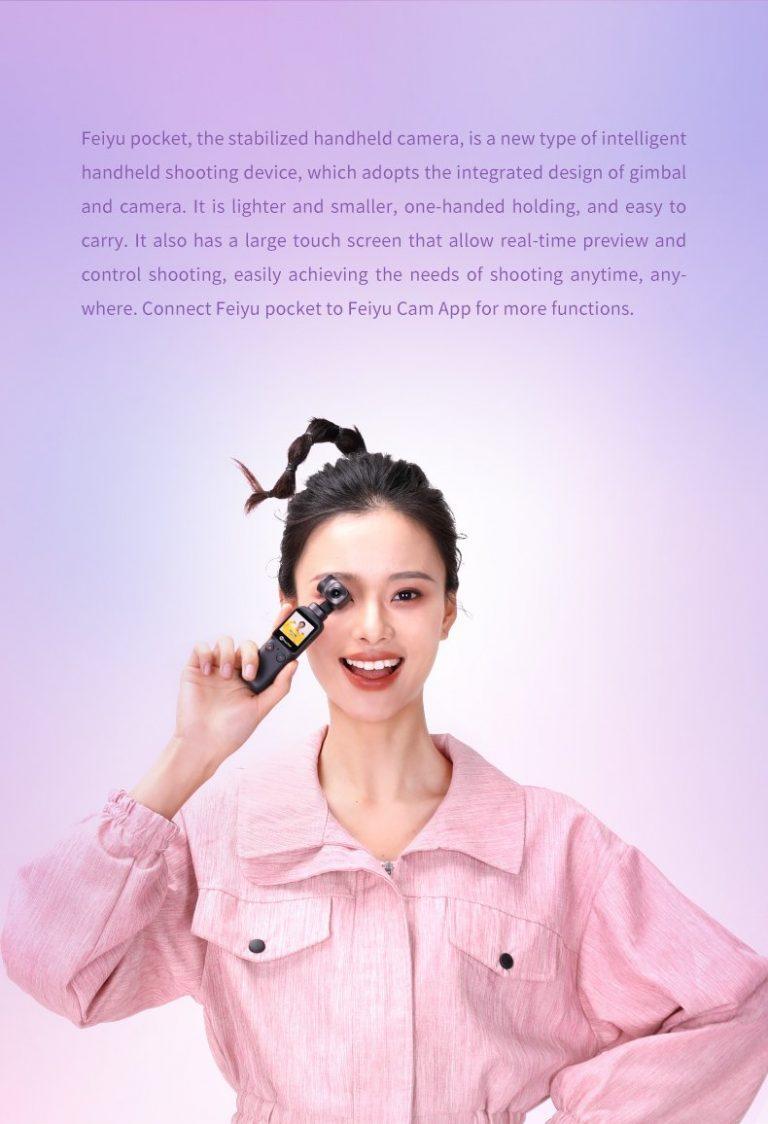 Feiyu Pocket gimbal kamera 2