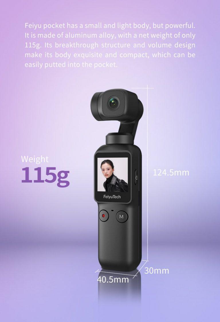Feiyu Pocket gimbal kamera 3