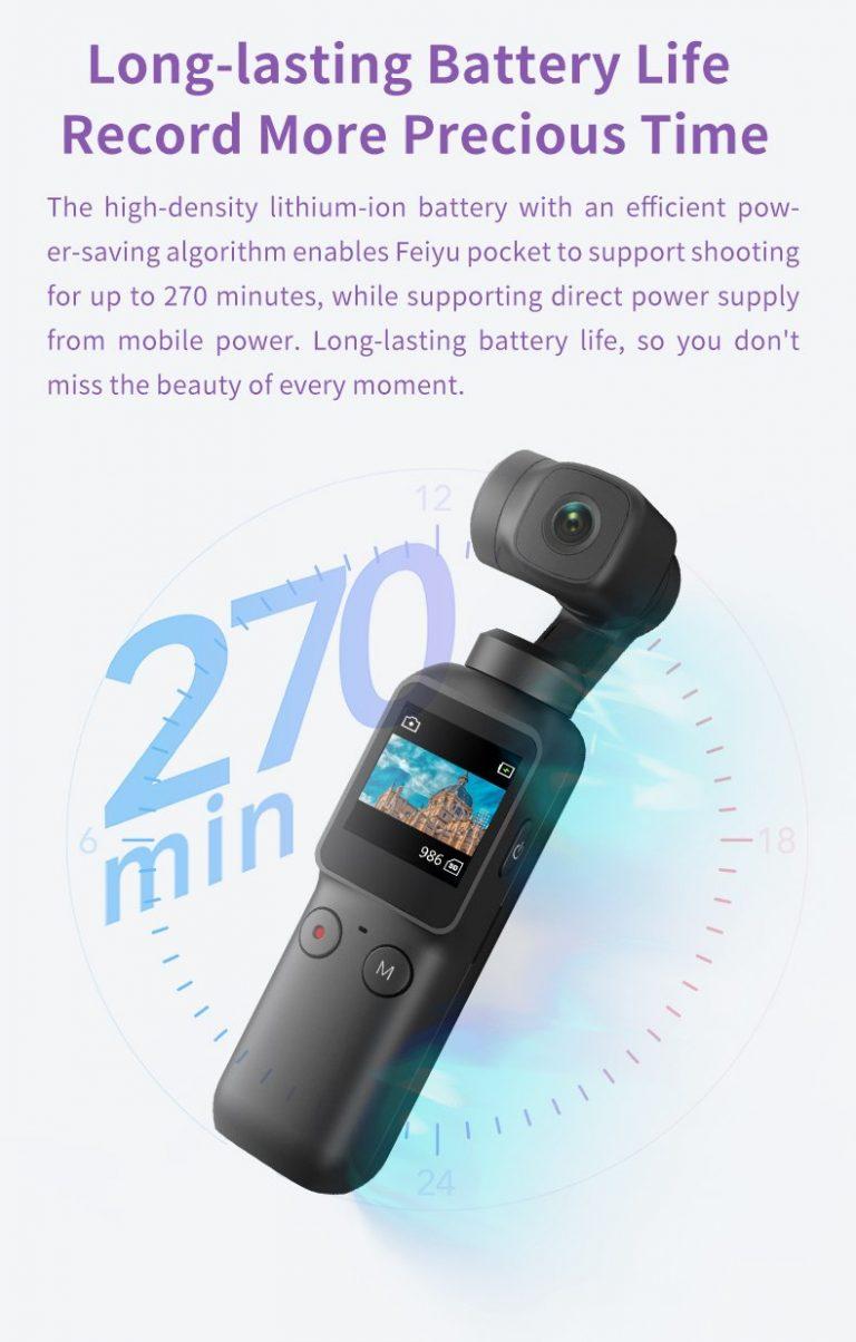 Feiyu Pocket gimbal kamera 4