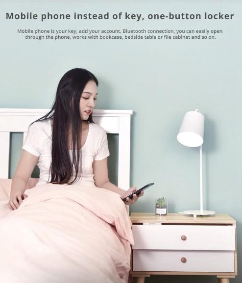Xiaomi okos szekrényzár a TomTopról 5