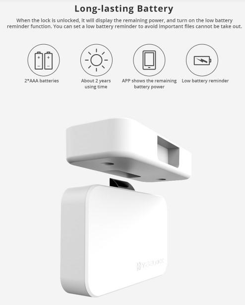 Xiaomi okos szekrényzár a TomTopról 3