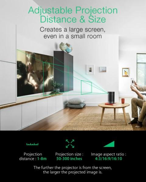 Hordozható, Full HD projektor a BlitzWolftól 6