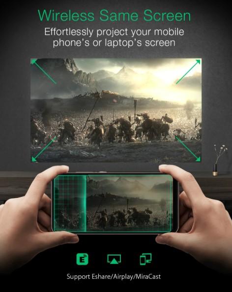 Hordozható, Full HD projektor a BlitzWolftól 8