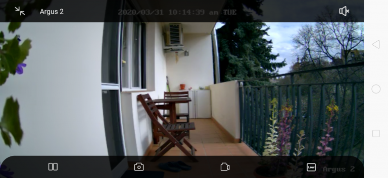Reolink Argus 2 kamera teszt 30