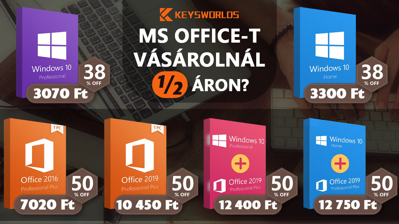 Kapható MS Office féláron? 2