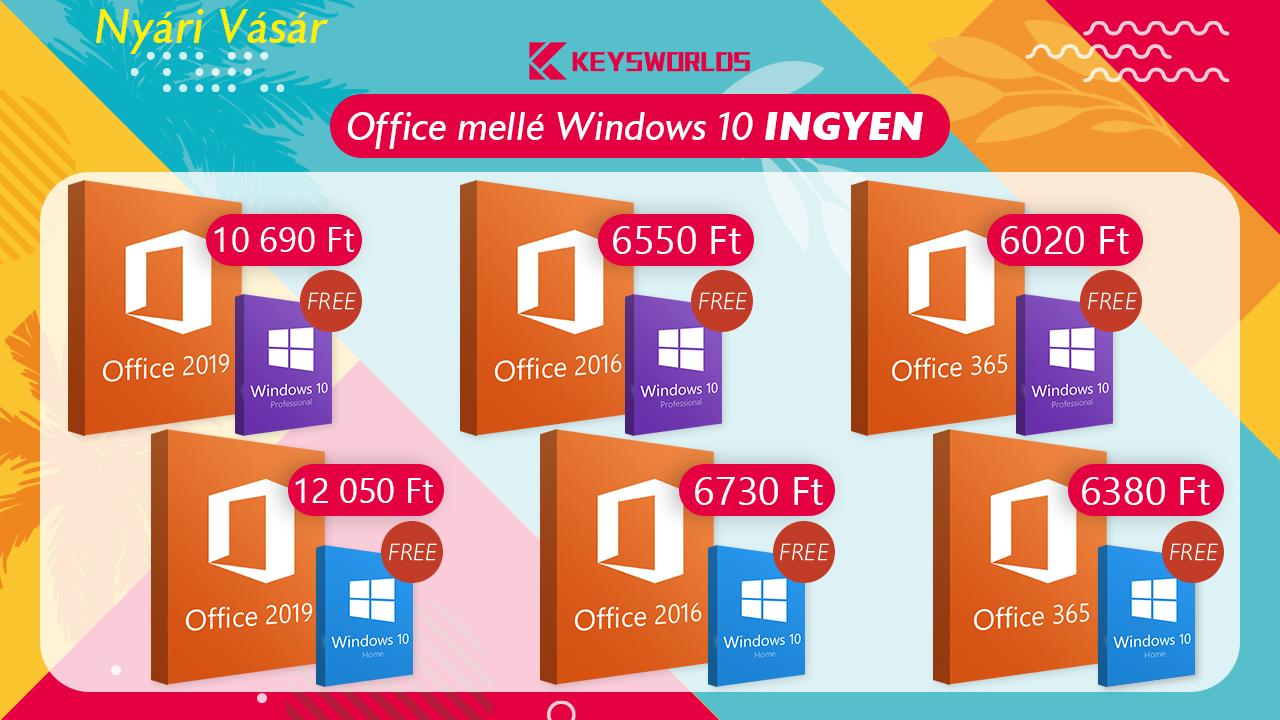 Windows 10 teljesen ingyen 2