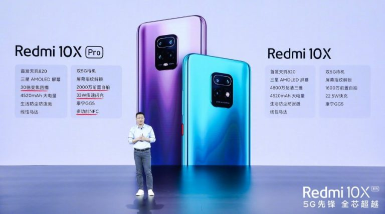 Redmi 10X 5G és 10X 5G Pro 3