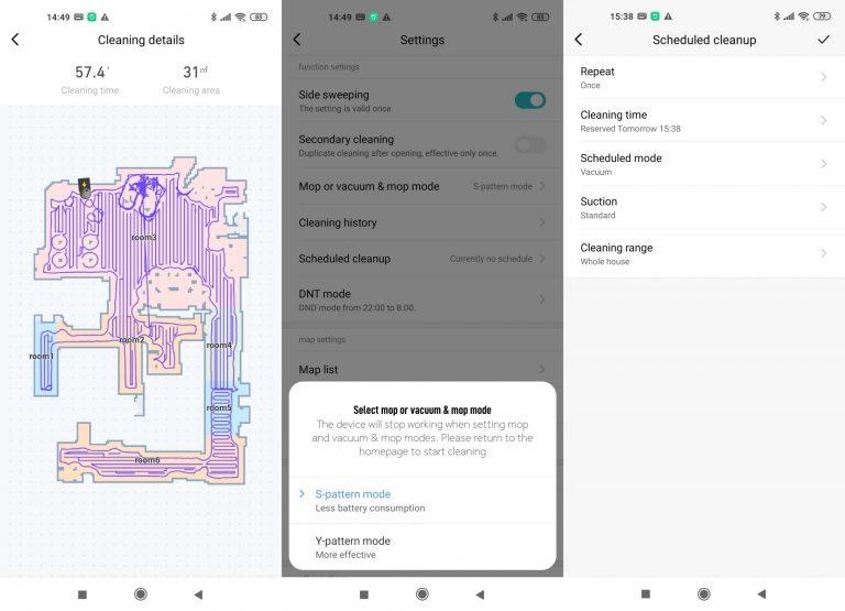 Xiaomi Viomi V3 robotporszívó teszt 16