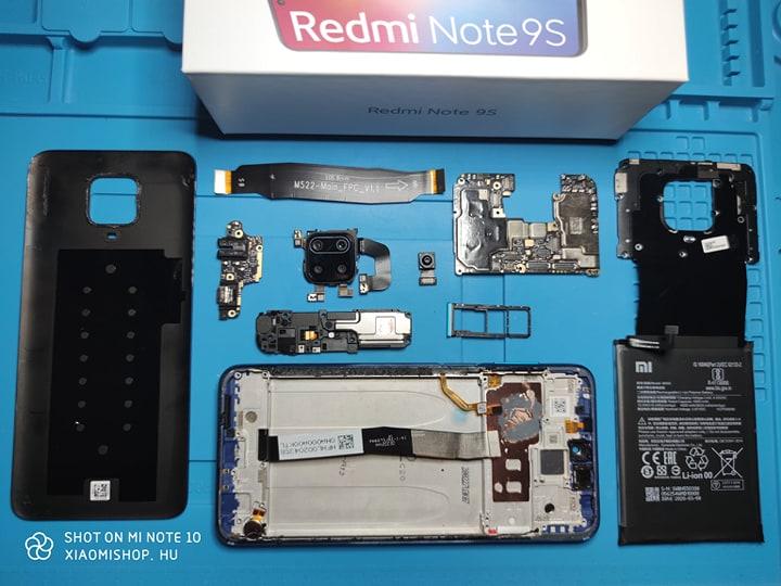 Xiaomi Redmi Note 9S okostelefon teszt 22