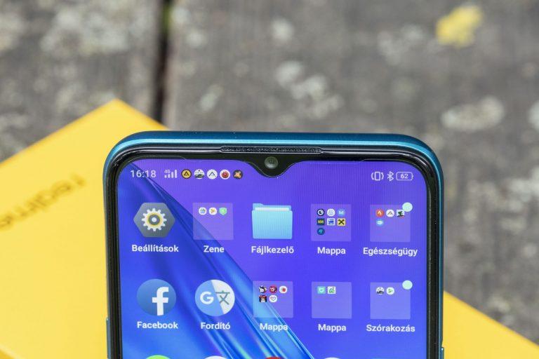 Realme 5i okostelefon teszt 17