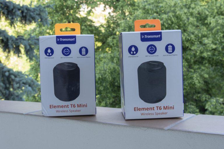 Tronsmart T6 Mini TWS hangszóró teszt 2
