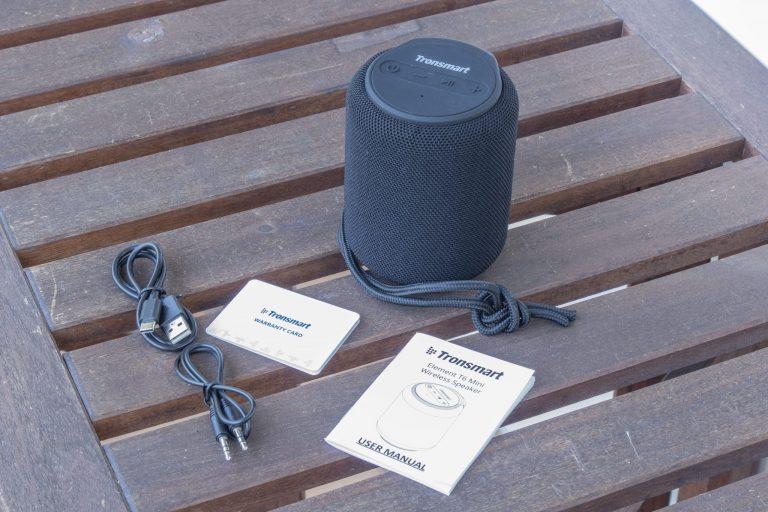 Tronsmart T6 Mini TWS hangszóró teszt 10