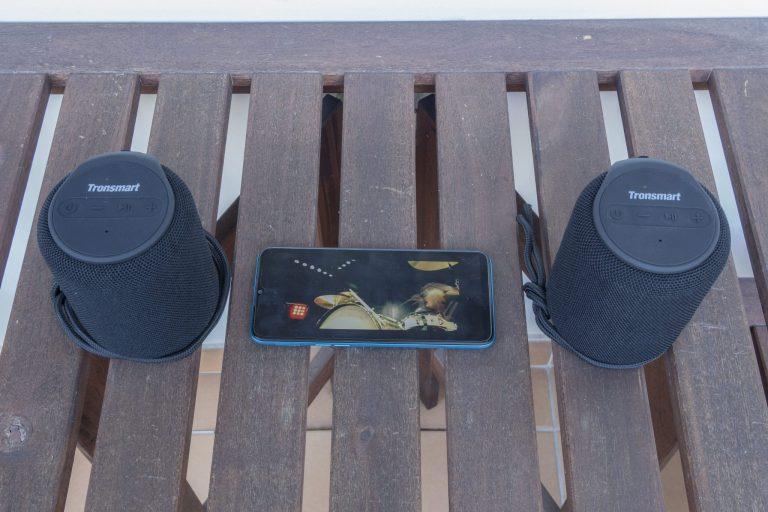 Tronsmart T6 Mini TWS hangszóró teszt 12