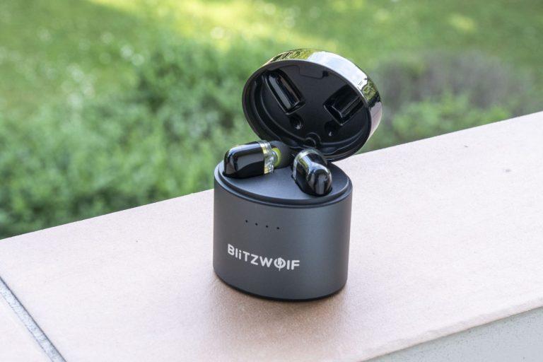 Blitzwolf BW-FYE8 TWS fülhallgató teszt 4