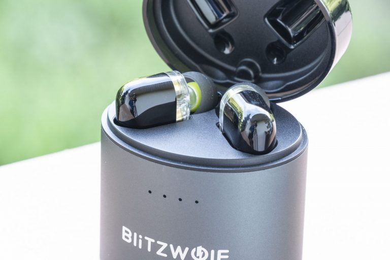 Blitzwolf BW-FYE8 TWS fülhallgató teszt 5