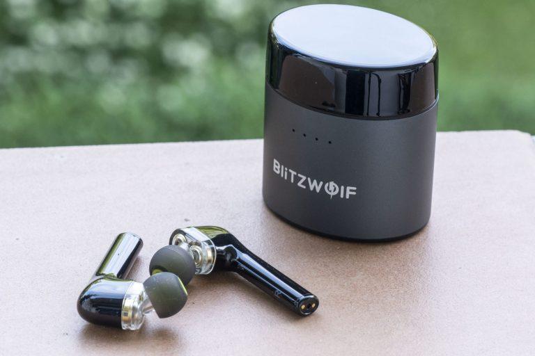 Blitzwolf BW-FYE8 TWS fülhallgató teszt 7