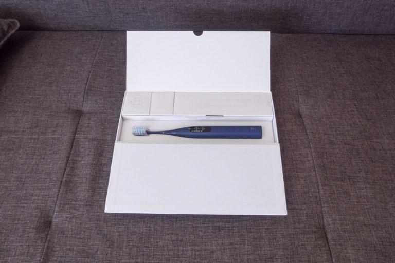 Xiaomi Oclean X Pro elektromos fogkefe teszt 3
