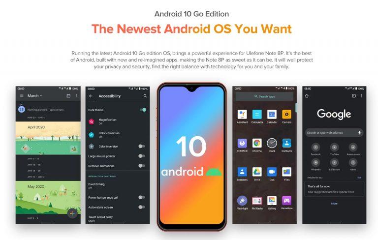 Itt a budget kategória új királya – Ulefone Note 8P 4