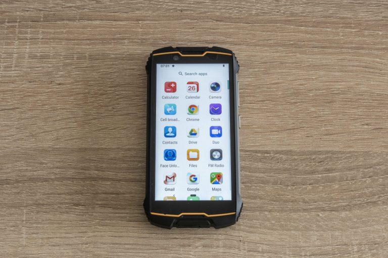 Cubot Kingkong Mini strapatelefon teszt 12