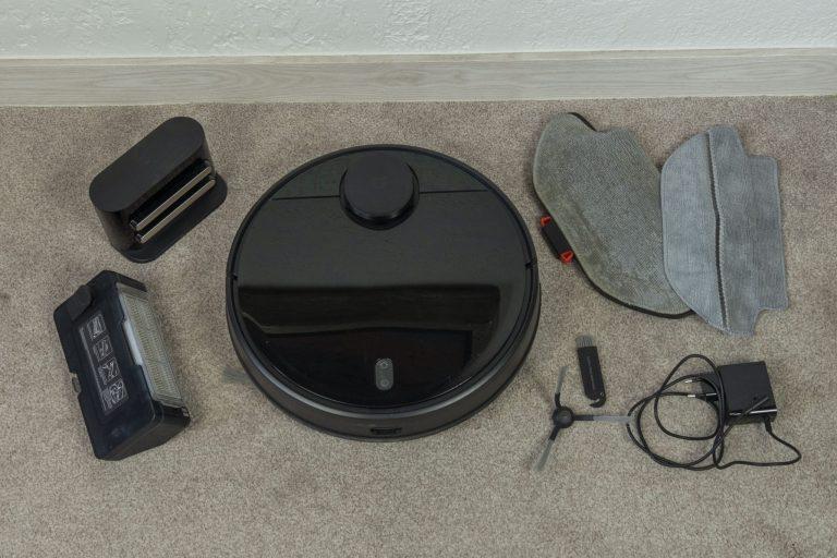 Xiaomi Vacuum-Mop Pro robotporszívó teszt 3