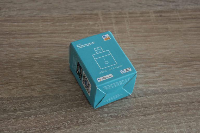 Sonoff Micro USB kapcsoló teszt 2