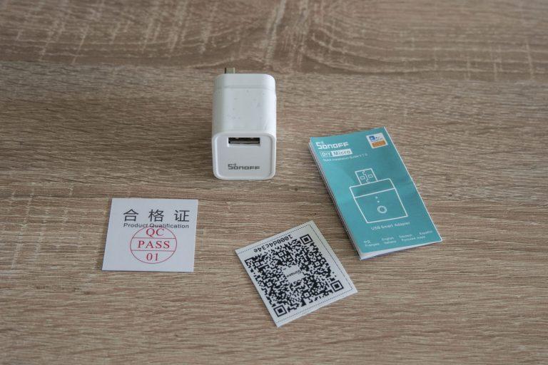 Sonoff Micro USB kapcsoló teszt 3