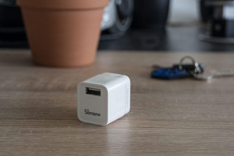 Sonoff Micro USB kapcsoló teszt 7
