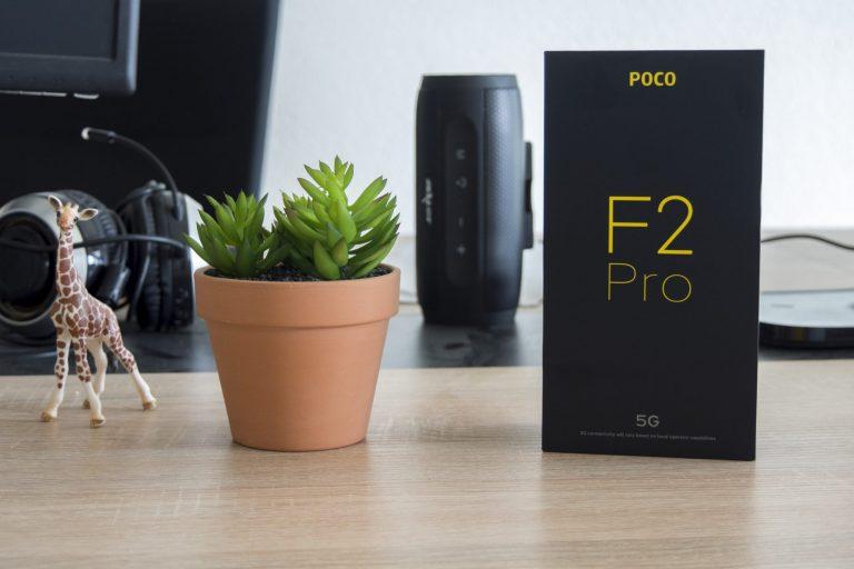 Xiaomi Poco F2 Pro okostelefon teszt 2