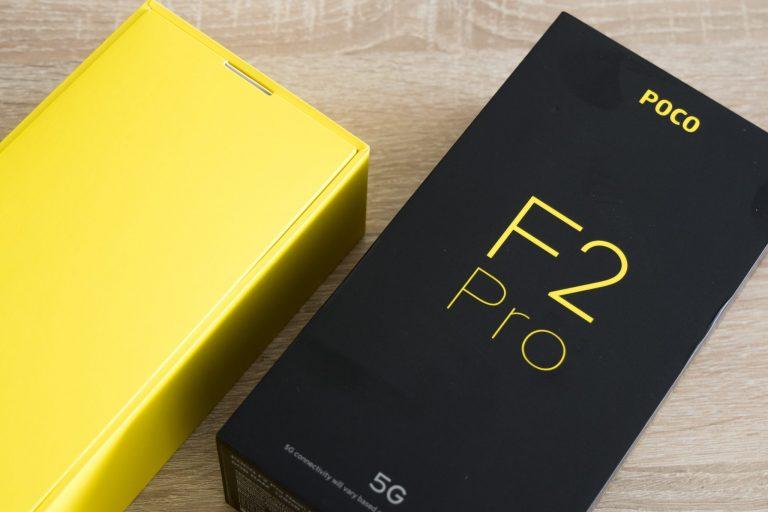 Xiaomi Poco F2 Pro okostelefon teszt 3