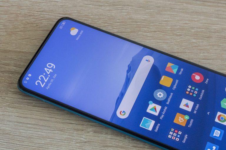 Xiaomi Poco F2 Pro okostelefon teszt 17