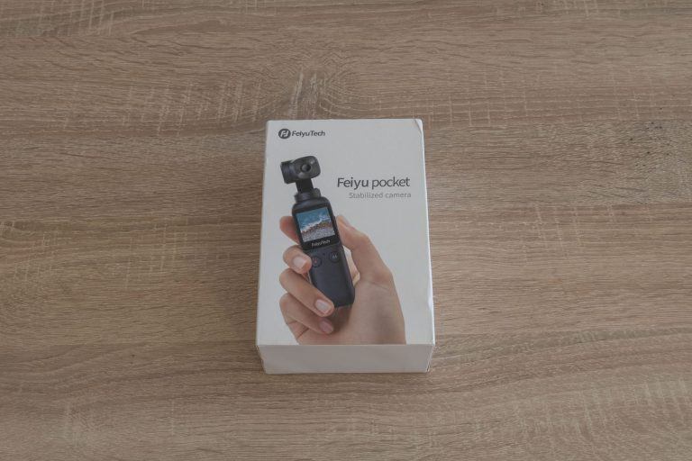 Feiyu Pocket gimbal kamera teszt 2