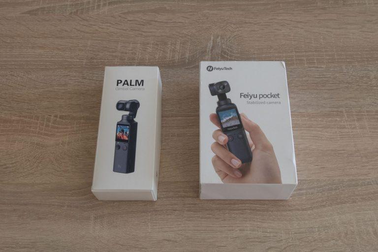 Feiyu Pocket gimbal kamera teszt 3