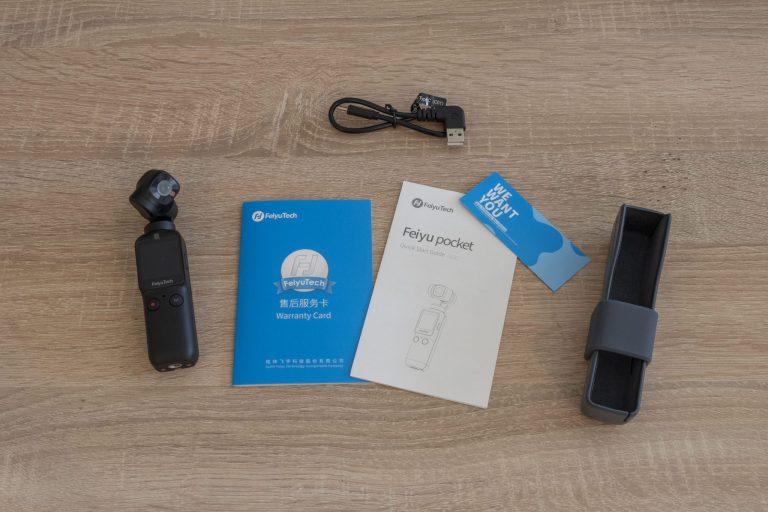 Feiyu Pocket gimbal kamera teszt 4