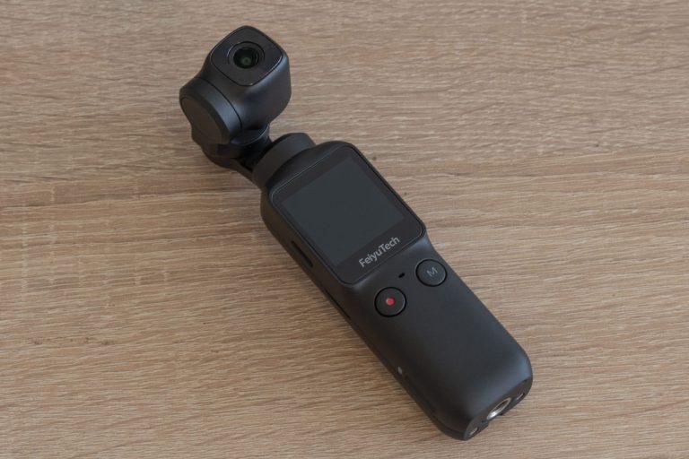Feiyu Pocket gimbal kamera teszt 6