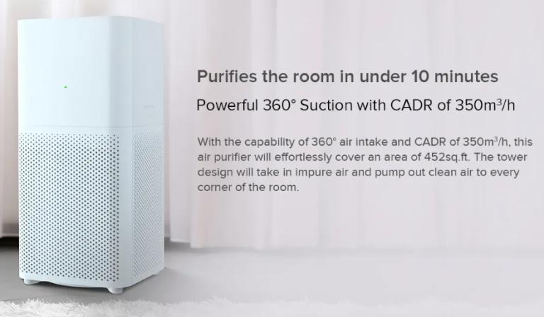Xiaomi Mijia Air Purifier 2C árzuhanás 2