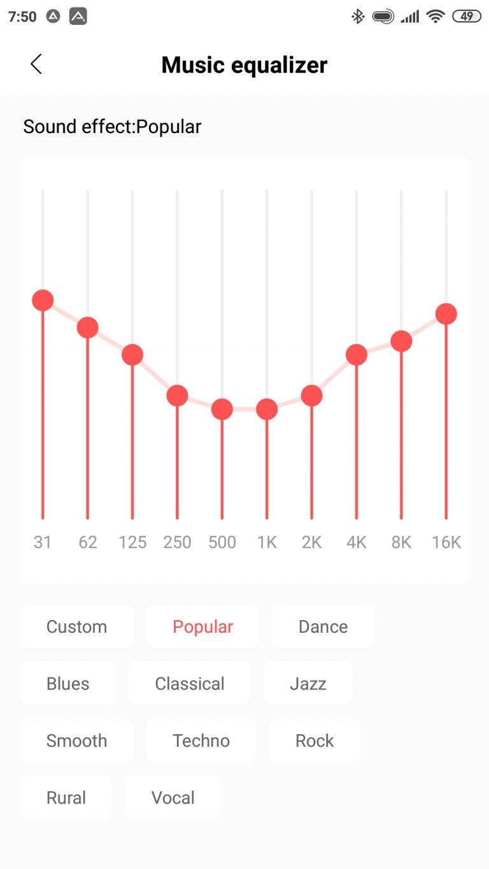 Xiaomi Amazfit PowerBuds sportfülhallgató teszt 17