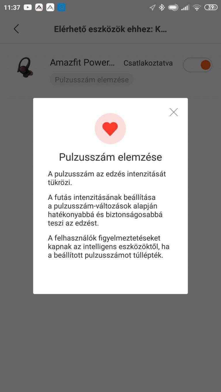 Xiaomi Amazfit PowerBuds sportfülhallgató teszt 23