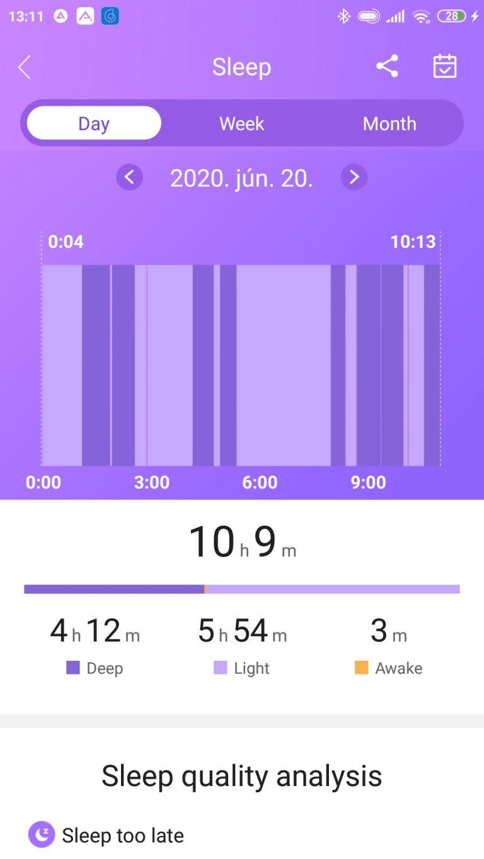 Xiaomi Haylou Solar aktivitásmérő teszt 11
