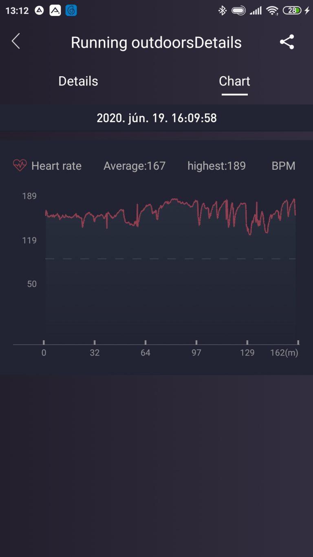Xiaomi Haylou Solar aktivitásmérő teszt 13